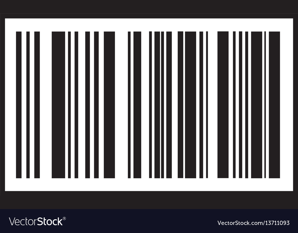 Barcode icon black bar code icon symbol about