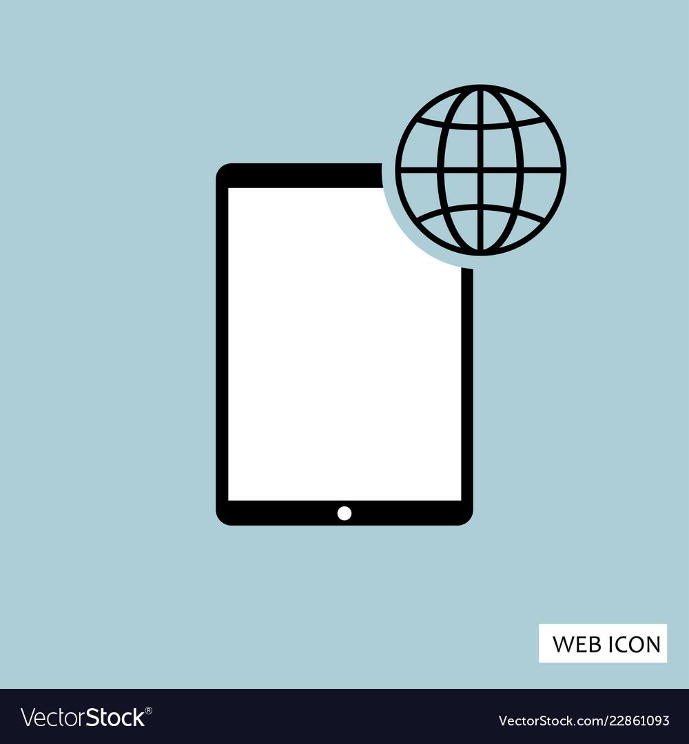 Globalization icon globalization icon eps10