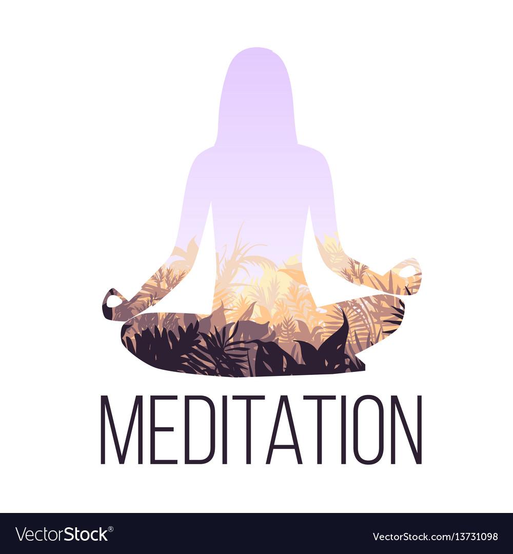 Yoga balance concept