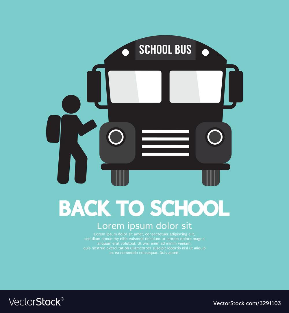 Back To School Graphic Symbol