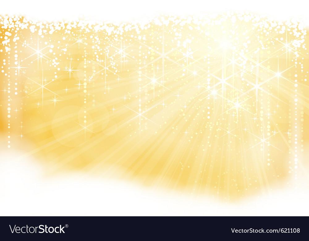 Golden sparkling christmas theme