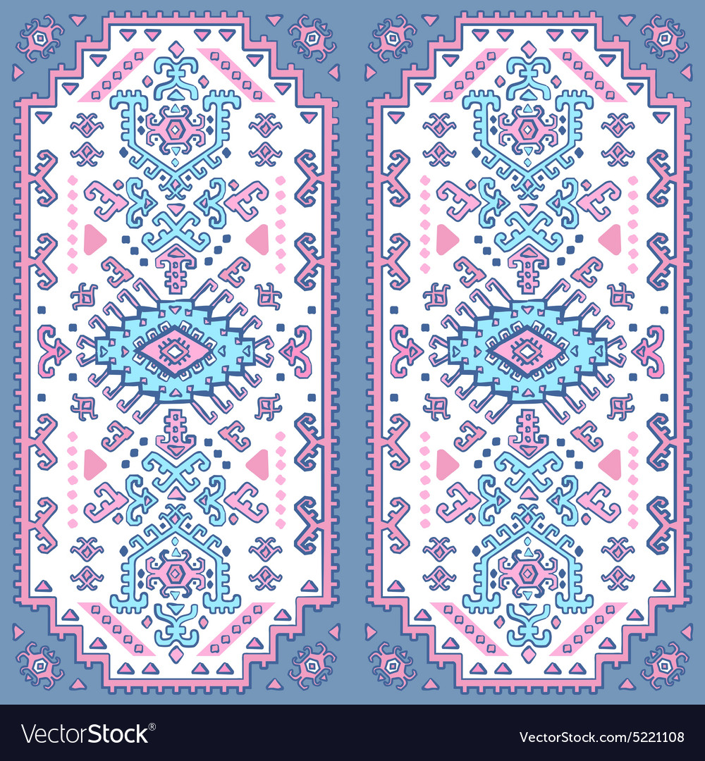 Tribal Mexican vintage ethnic seamless pattern
