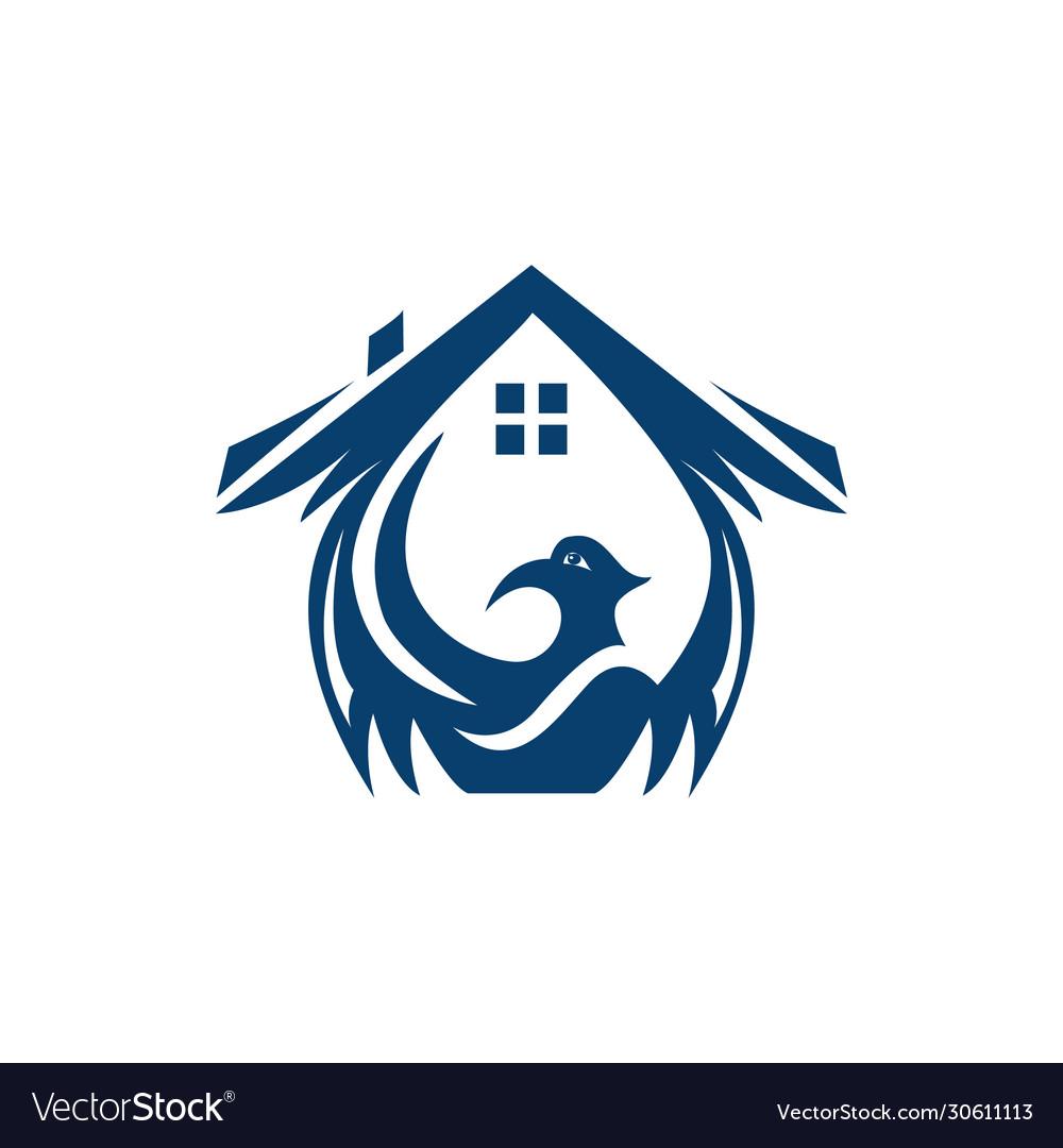 Phoenix home logo design