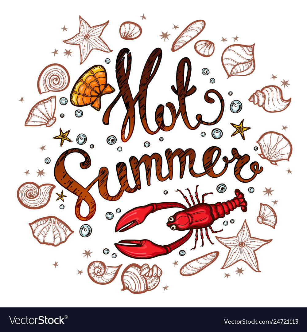 Summer time banner for promotion poster