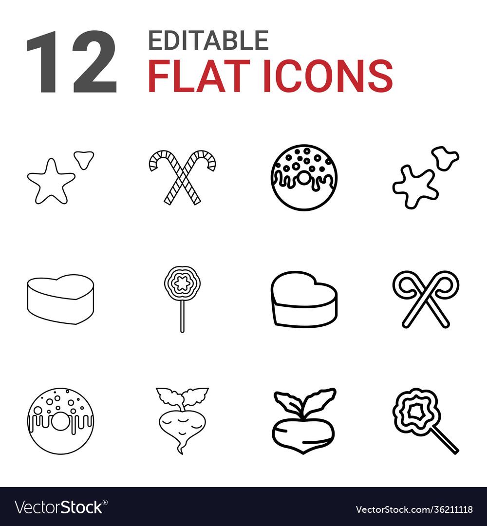 12 sugar icons