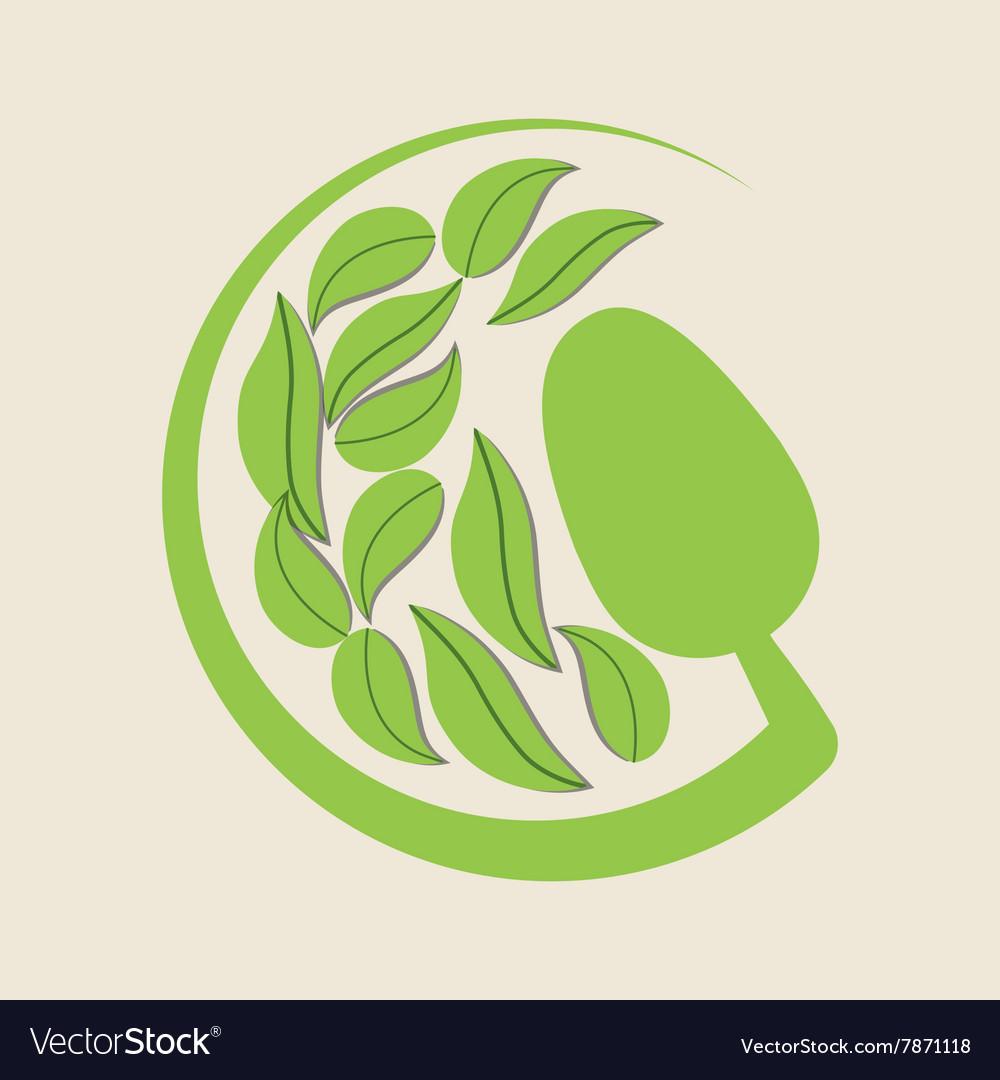 Vegan icon design Vector Image