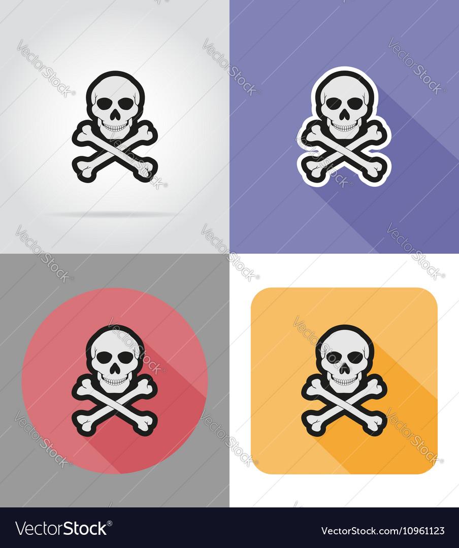 Halloween flat icons 16