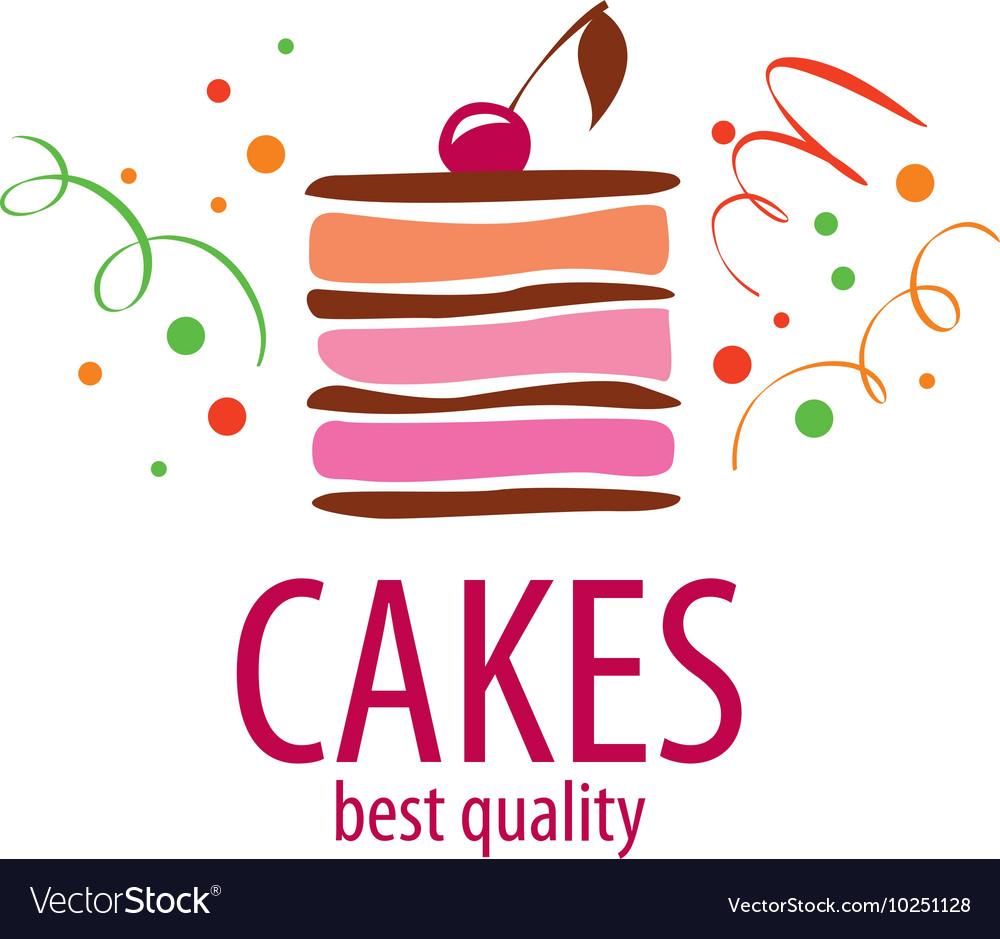 Cake Logo Royalty Free Vector Image Vectorstock