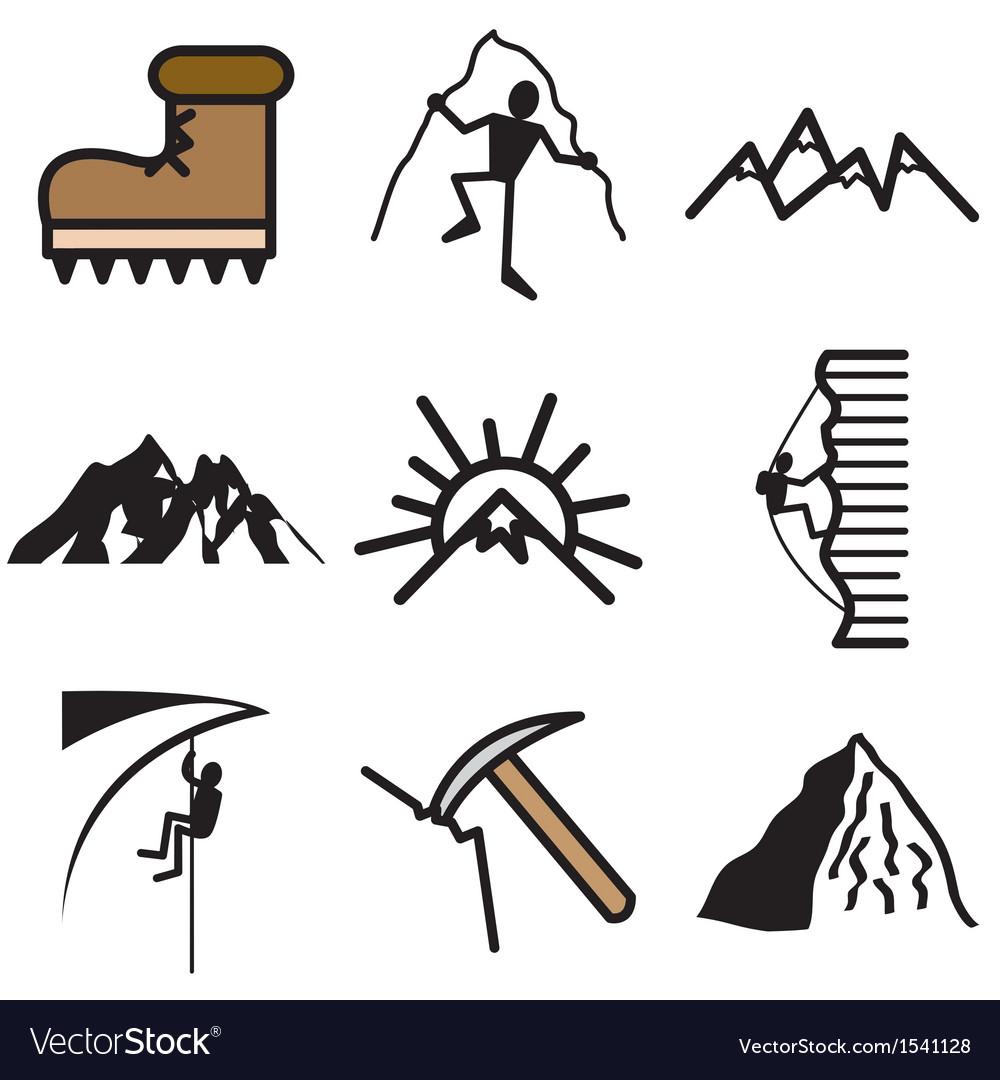 Logo icons mount