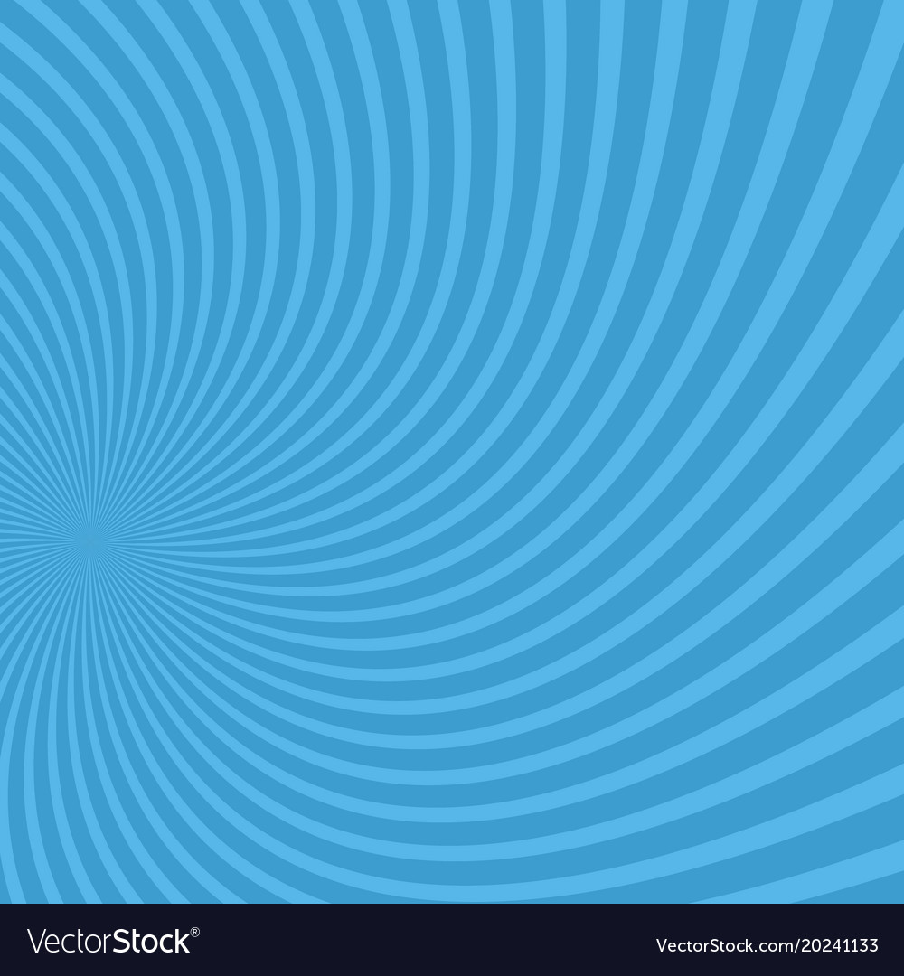 Abstract psychedelic spiral background vector image