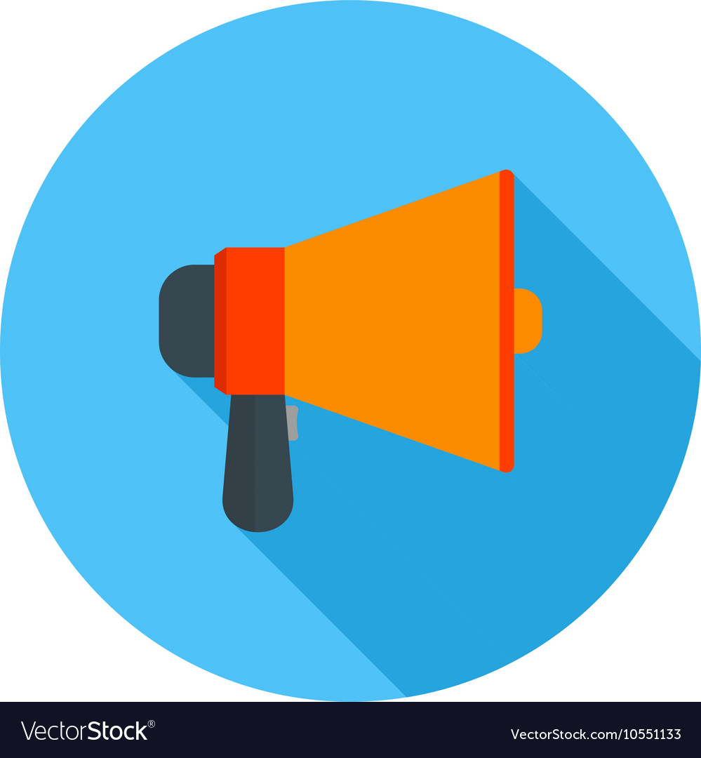 announcement speaker royalty free vector image vectorstock