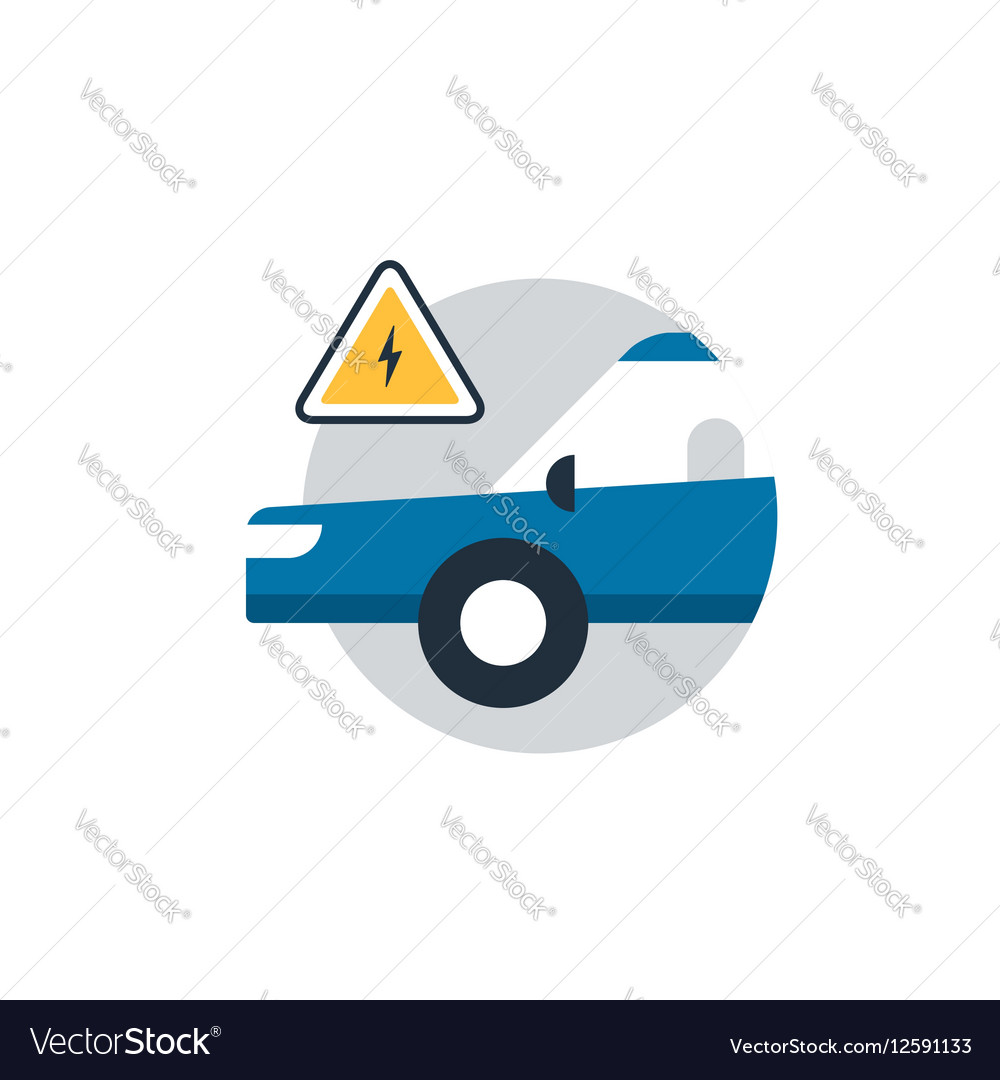 Auto car repair services diagnostic concept vector image