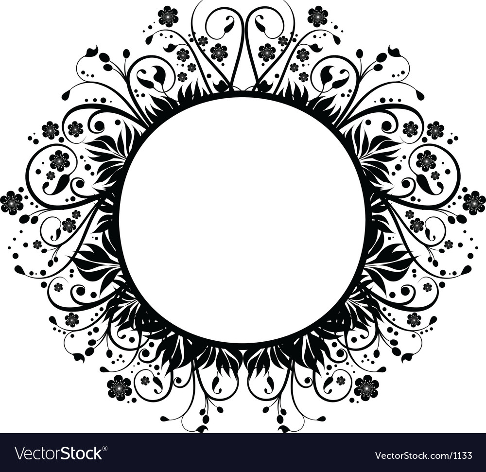 decorative border royalty free vector image vectorstock