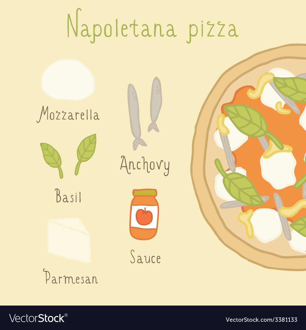 Napoletana pizza ingredients