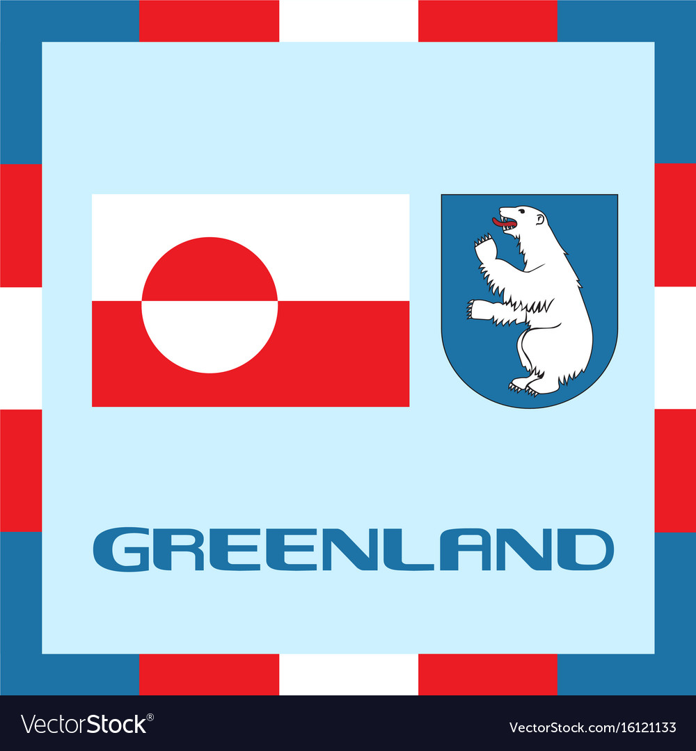 Official government ensigns of greenland