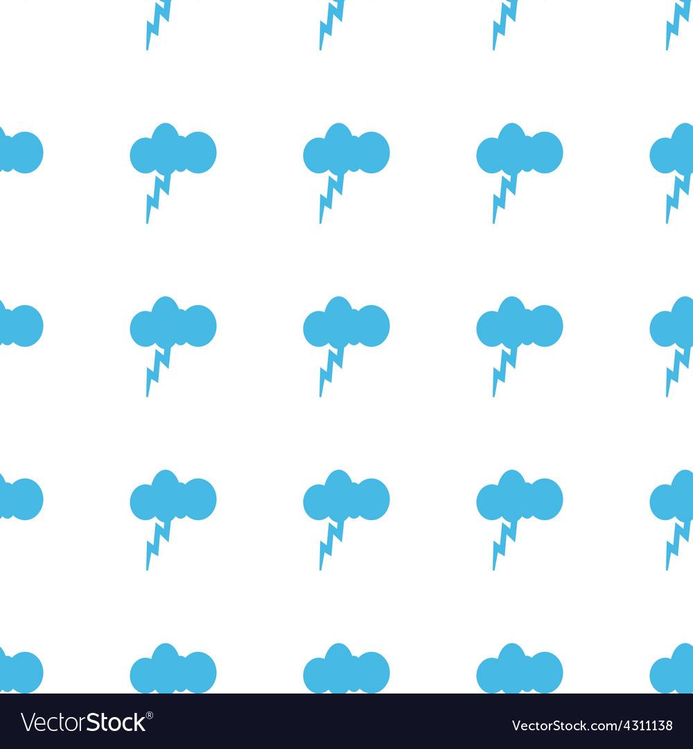 Unique Storm seamless pattern