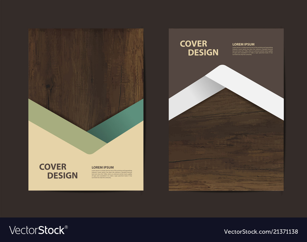 Wood texture background geometric cover business