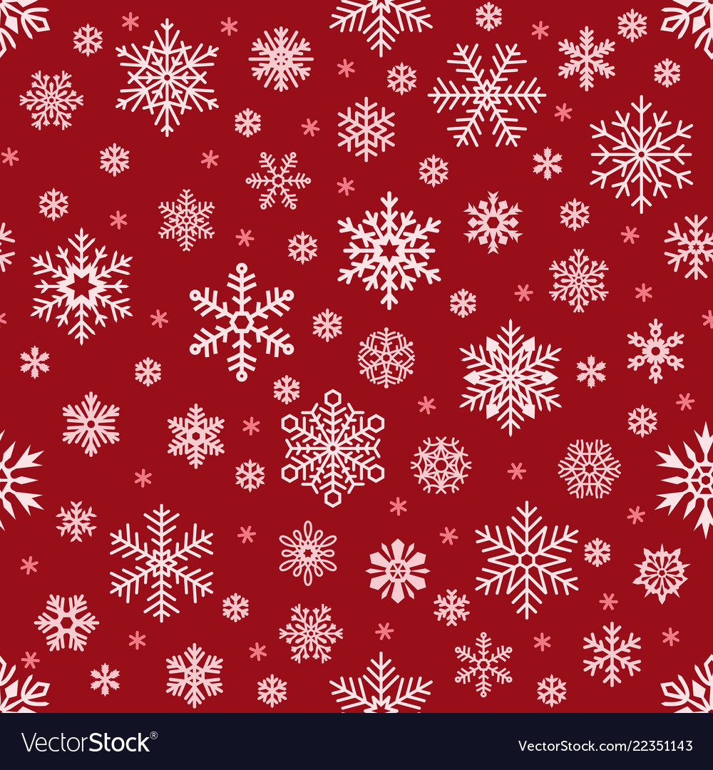 Christmas Pattern.Snowflakes Pattern Christmas Falling Snowflake On