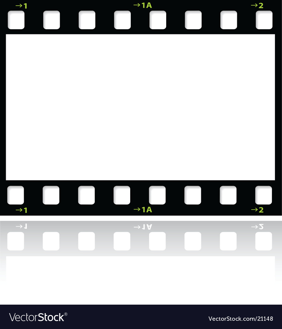 filmstrip royalty free vector image vectorstock rh vectorstock com vector film strip free vector film strip font