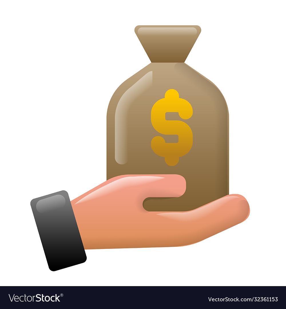 Finance earnings icon