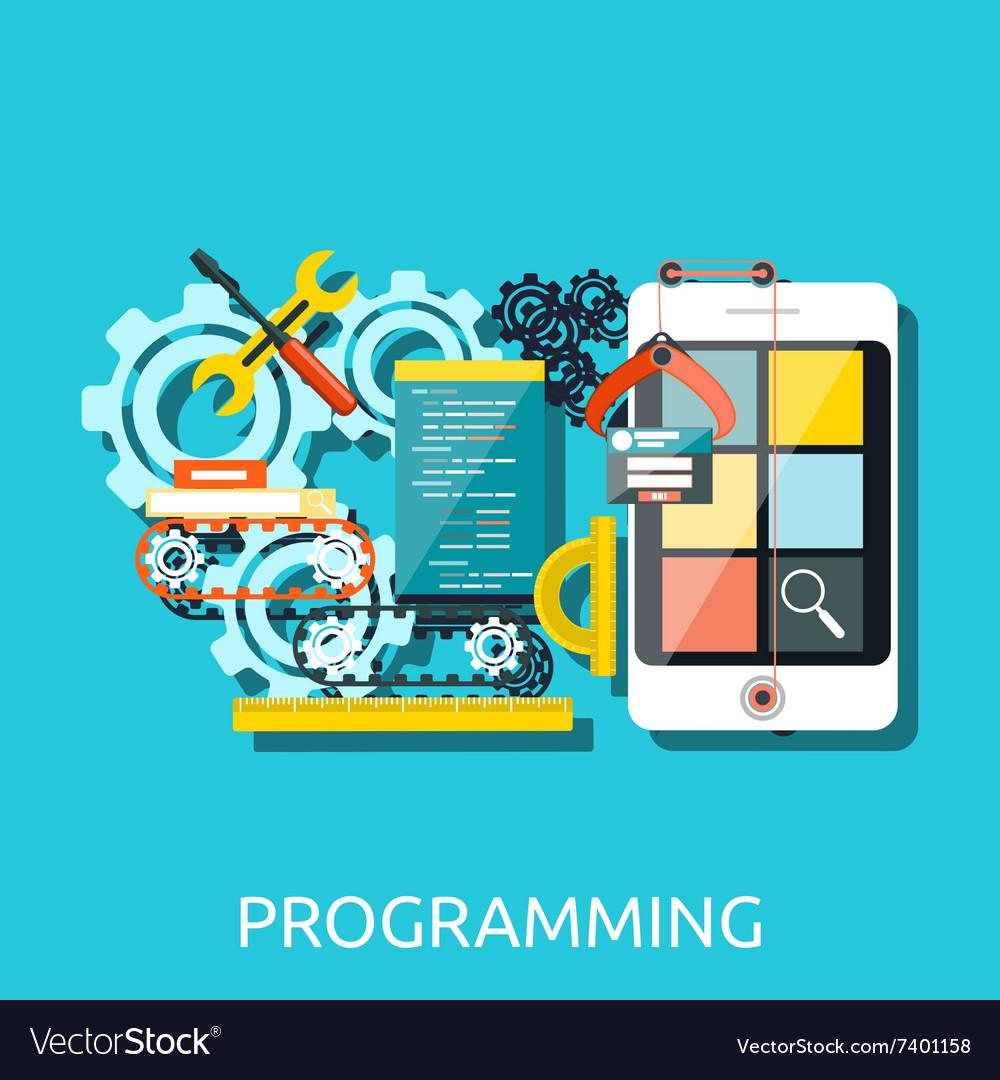 App Development Programming Concept