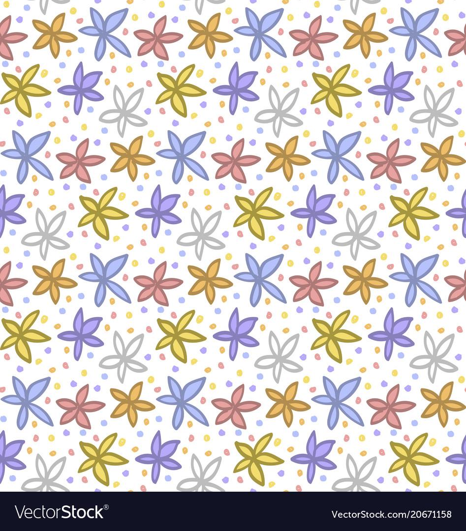 Floral elements pattern
