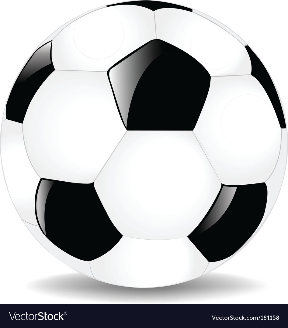 Soccer ball Royalty Free Vector Image - VectorStock 89c028492d780