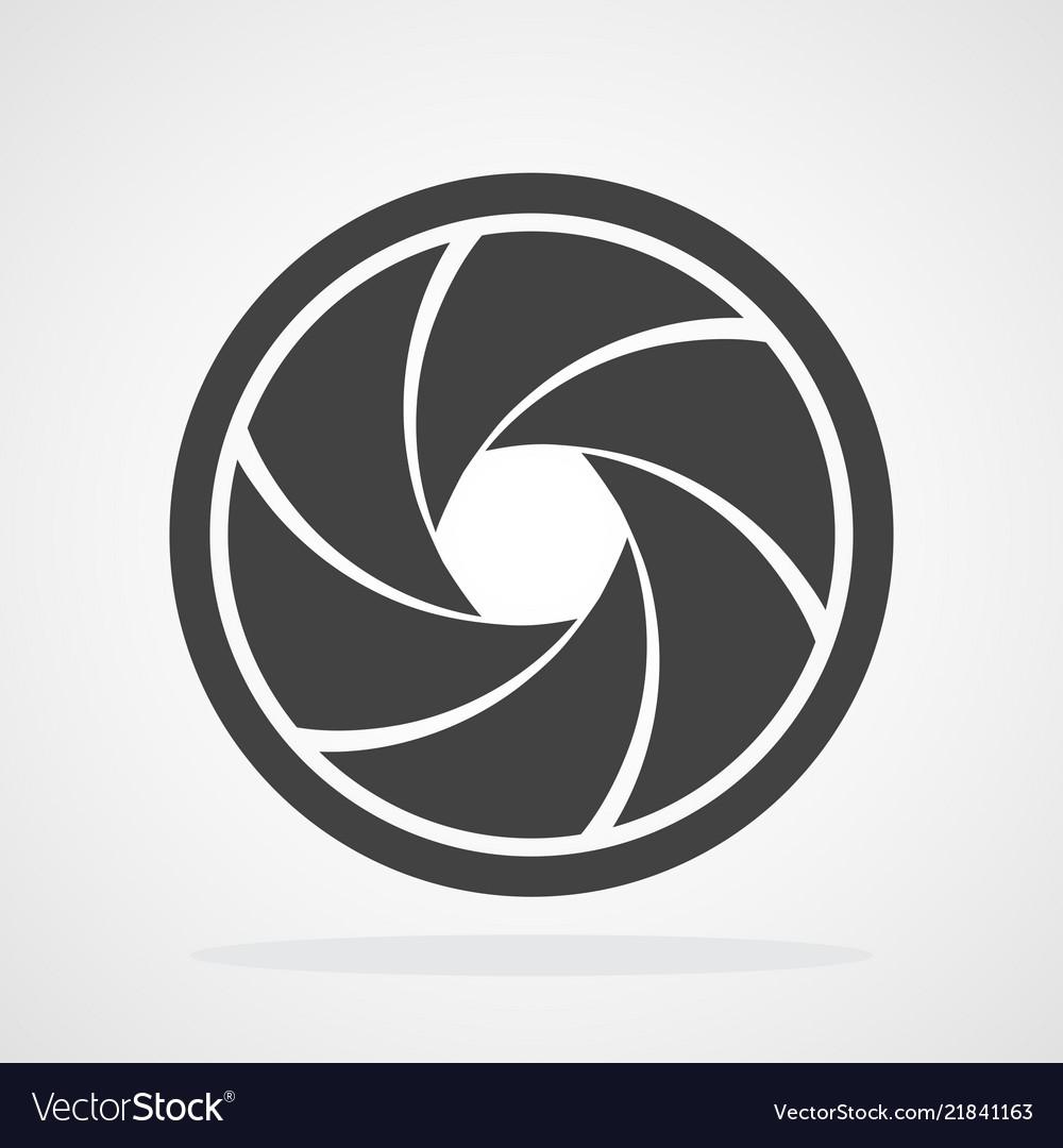 Aperture diaphragm icon