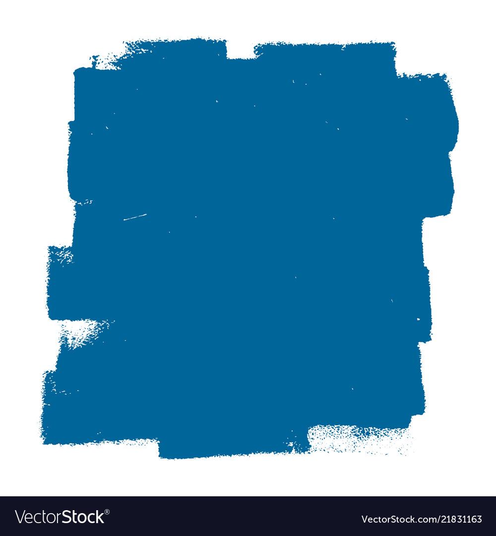 Blue paintroller banner