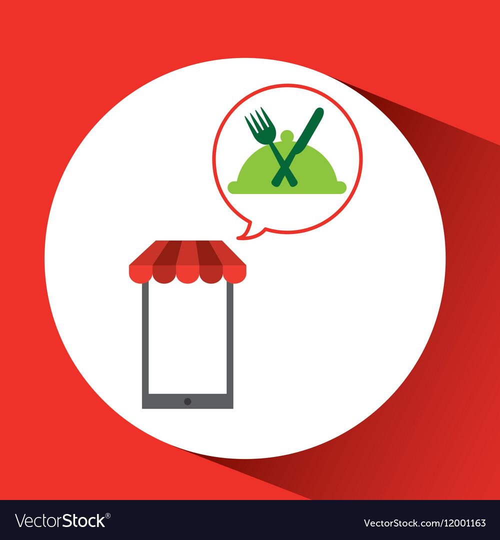 Mobile phone shopping organic food gluten free