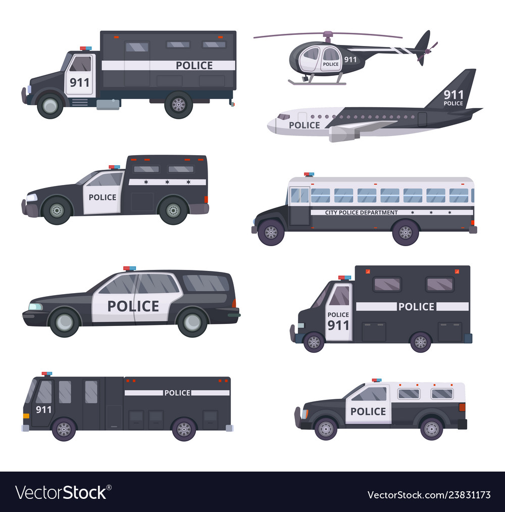 Police cars vehicle protection services