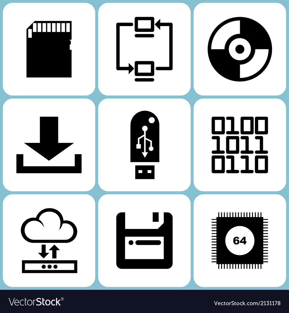 Data Icons Set