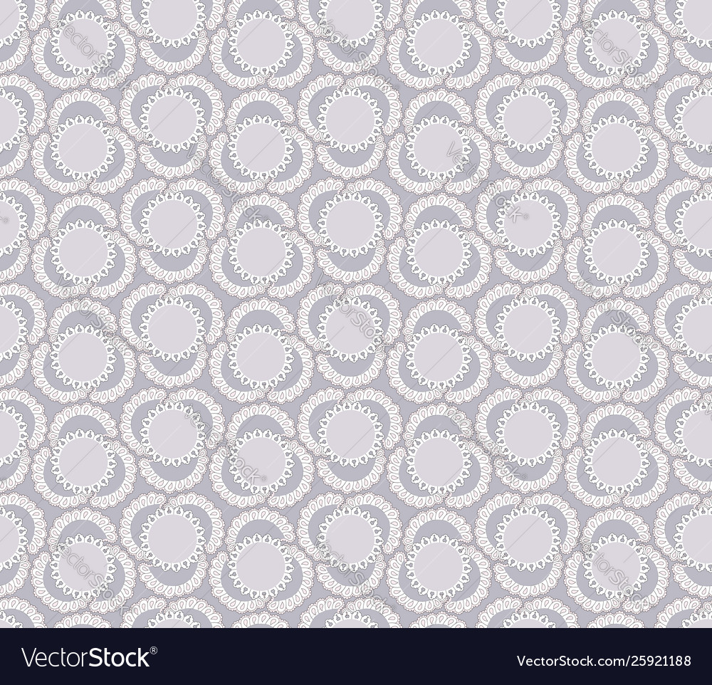 Abstract floral ornamental pattern geometric