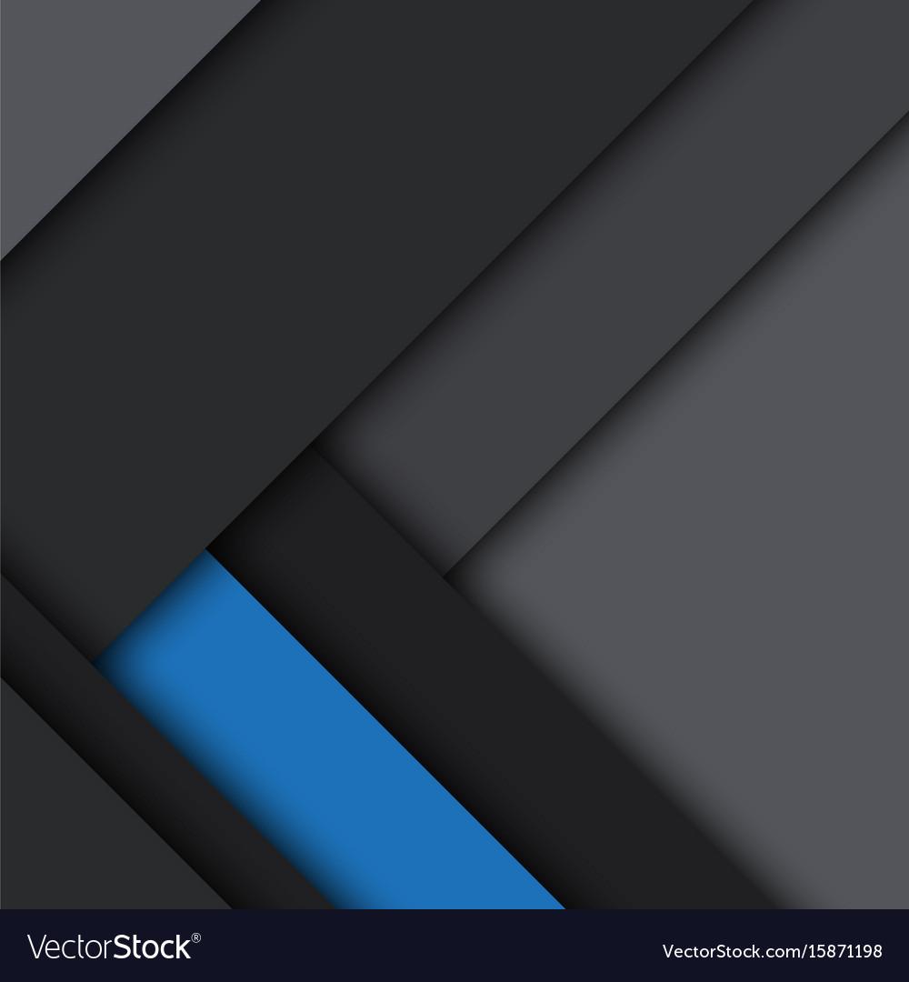 Black and blue modern material design