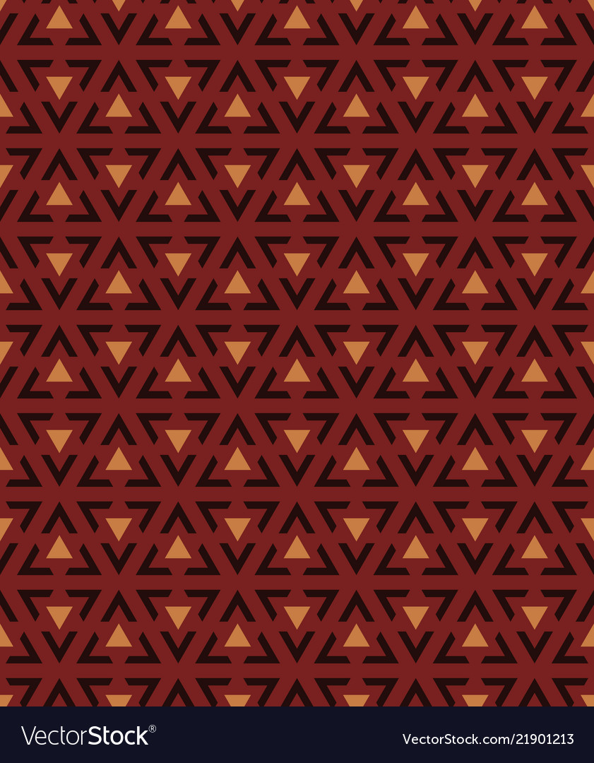 Abstract background seamless triangular pattern