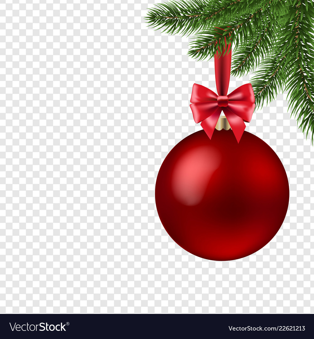Xmas Ball Isolated Transparent Background