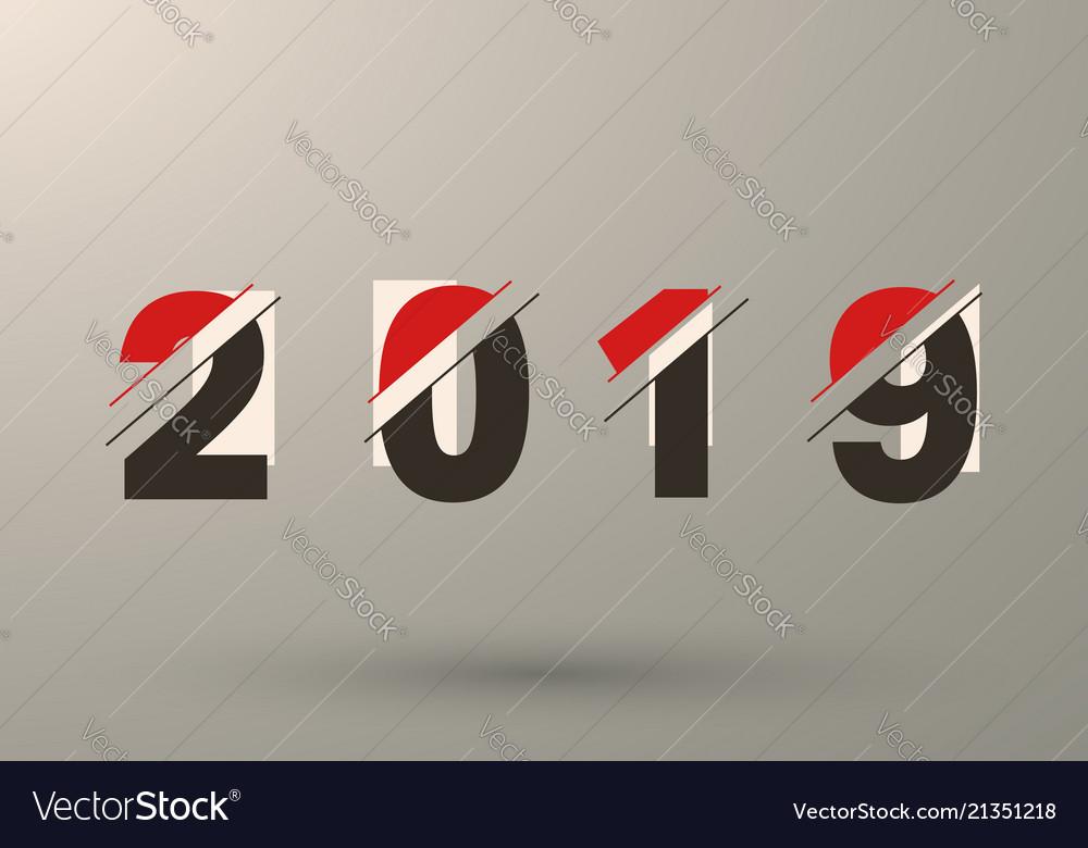 2019 background modern design