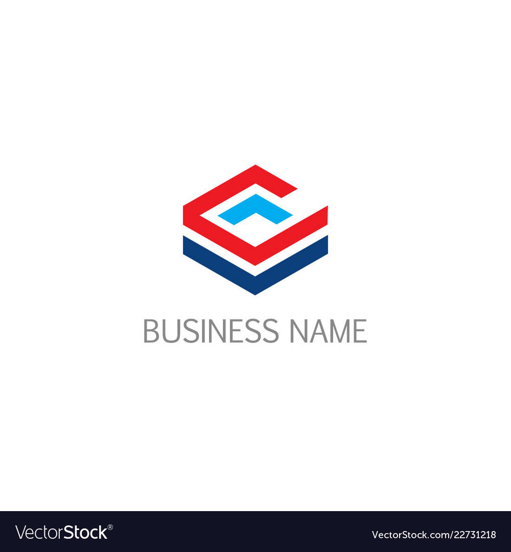 Cube line technology business logo