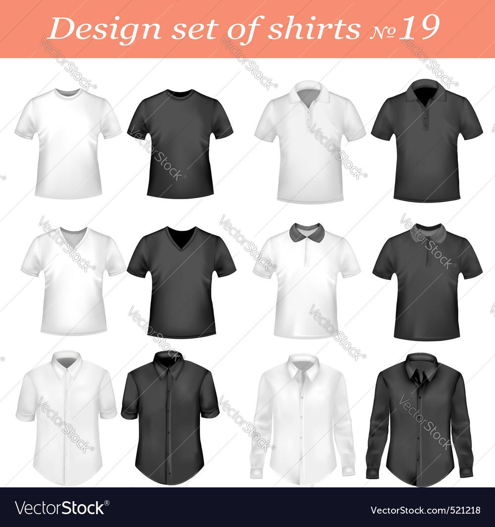 Design set 19 vector image