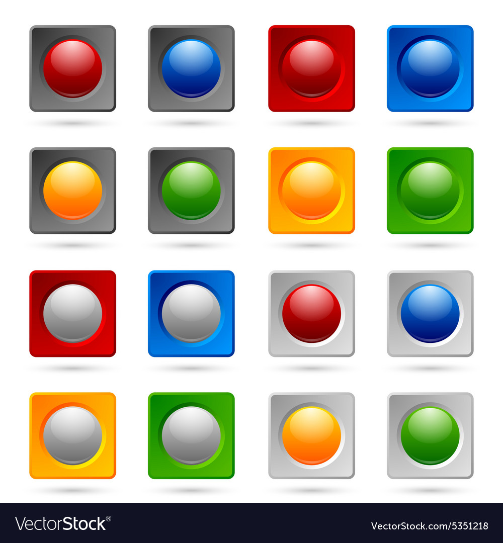 Icon or button backgrounds
