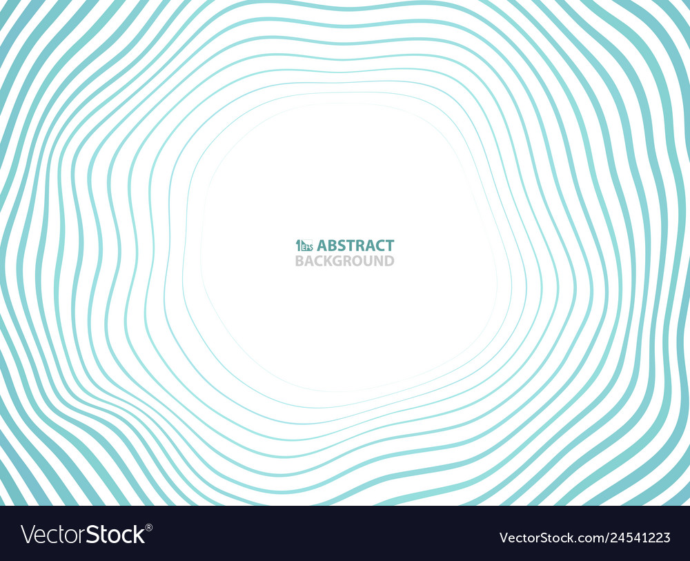 Abstract sea waves pattern circle presentation