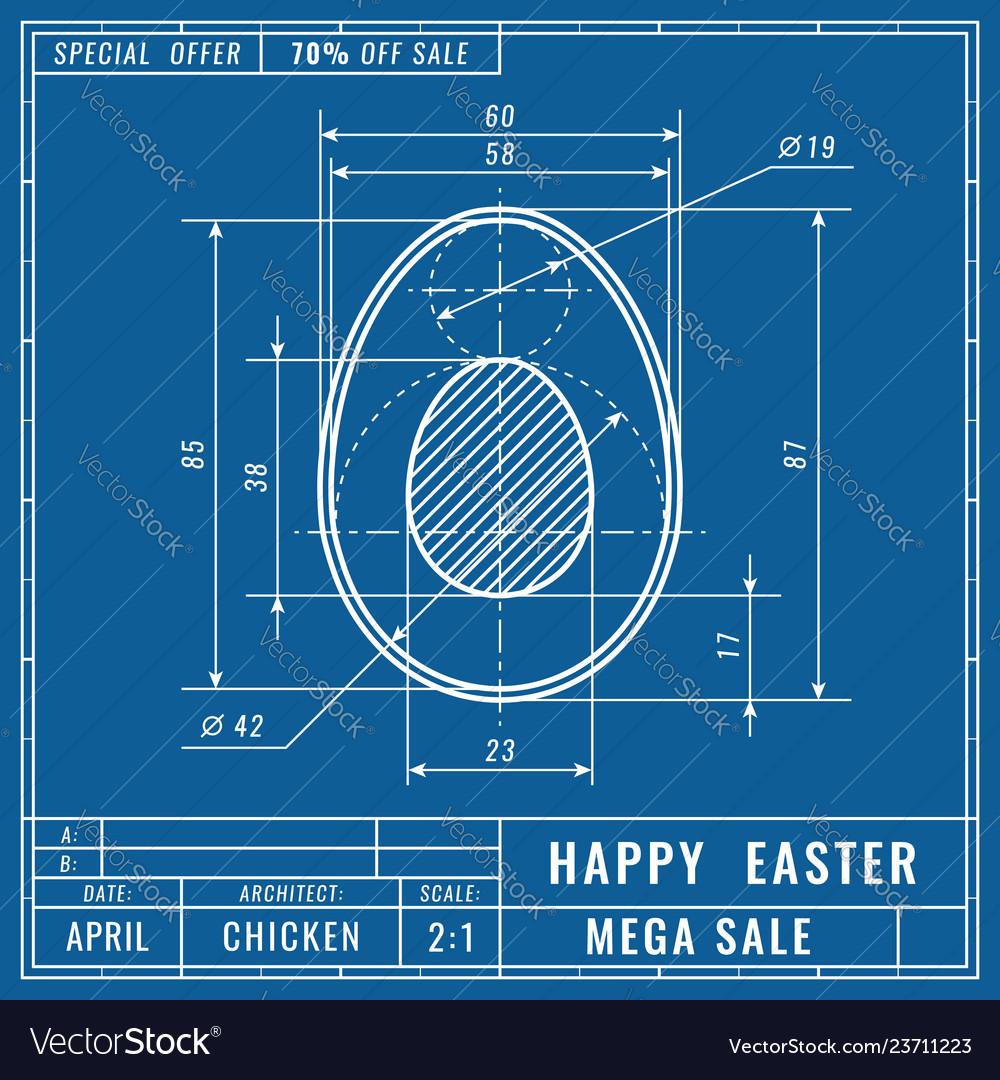 Blueprints concept of easter egg mechanical