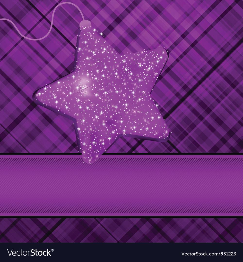 Christmas purple stars background royalty free vector image christmas purple stars background vector image voltagebd Gallery