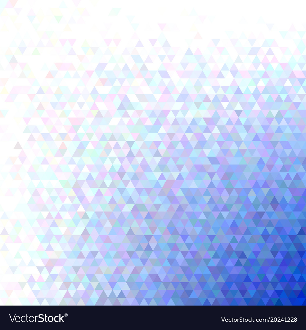 Geometric abstract regular triangle pattern vector image
