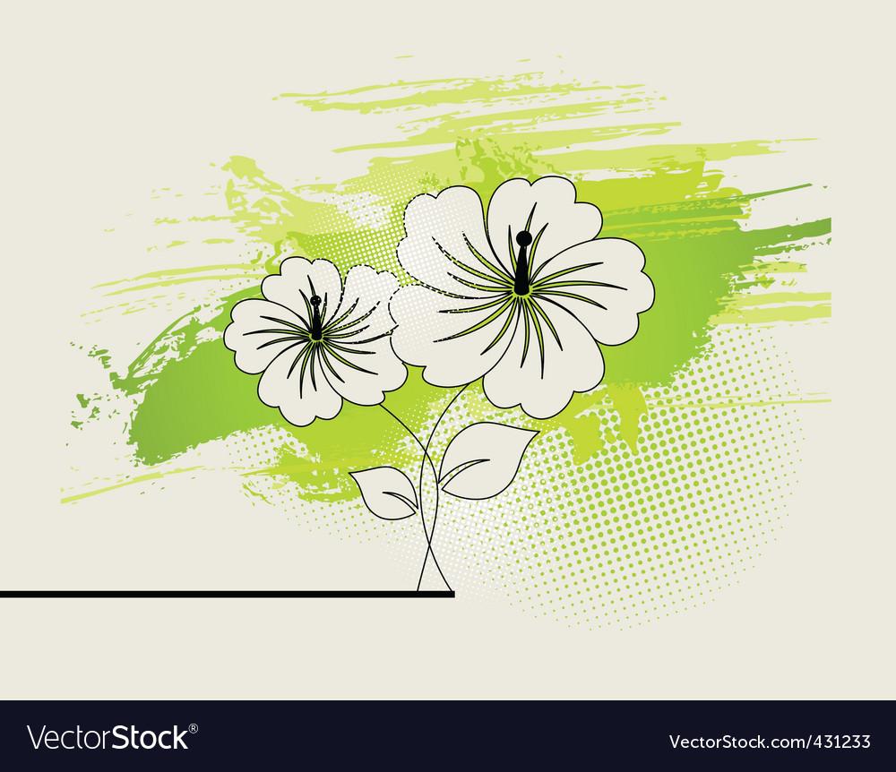 Abstract ikebana