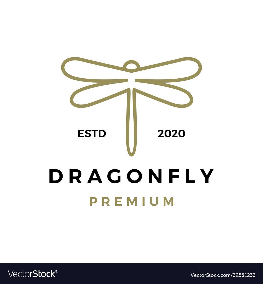 Dragonfly logo icon