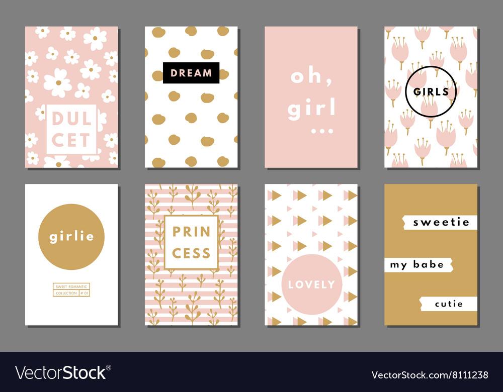 Creative girlie cards