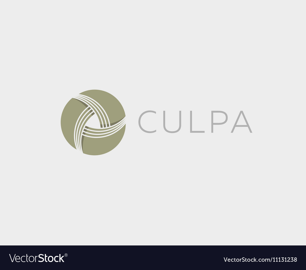 Money symbol Wealth sign Financial logo design vector image