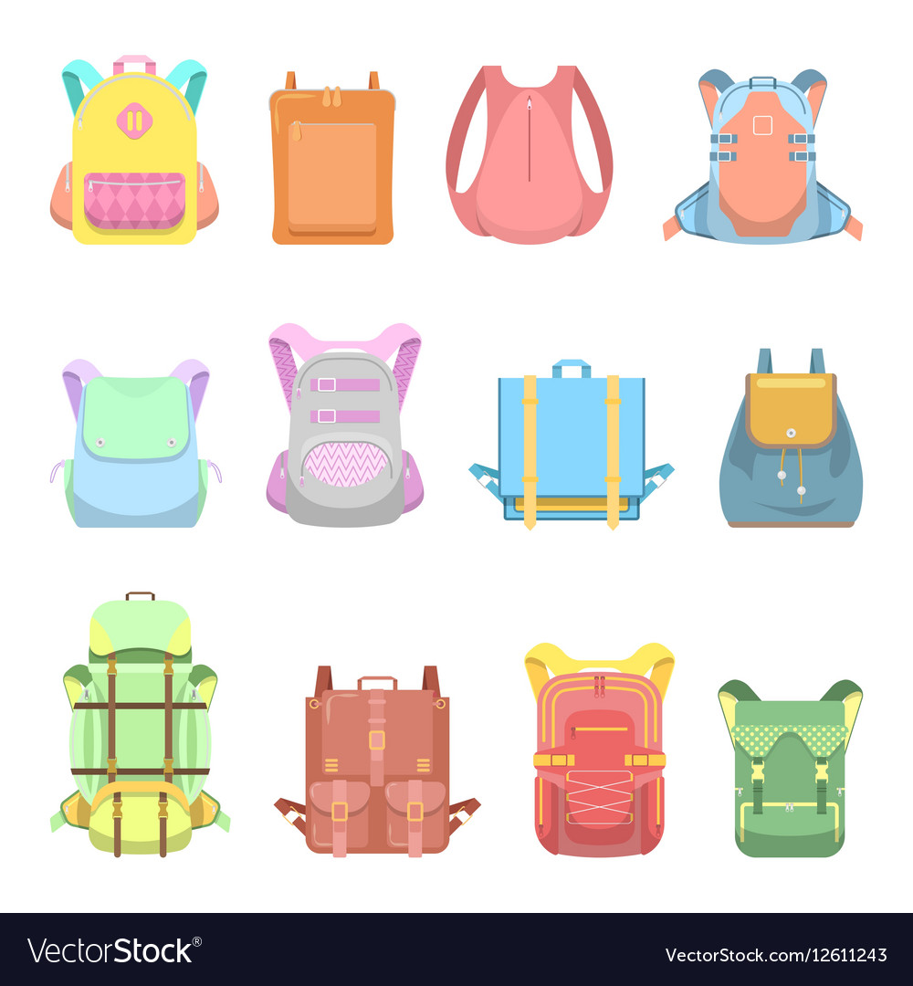 Backpack Suitcase and Bag Set for School Travel