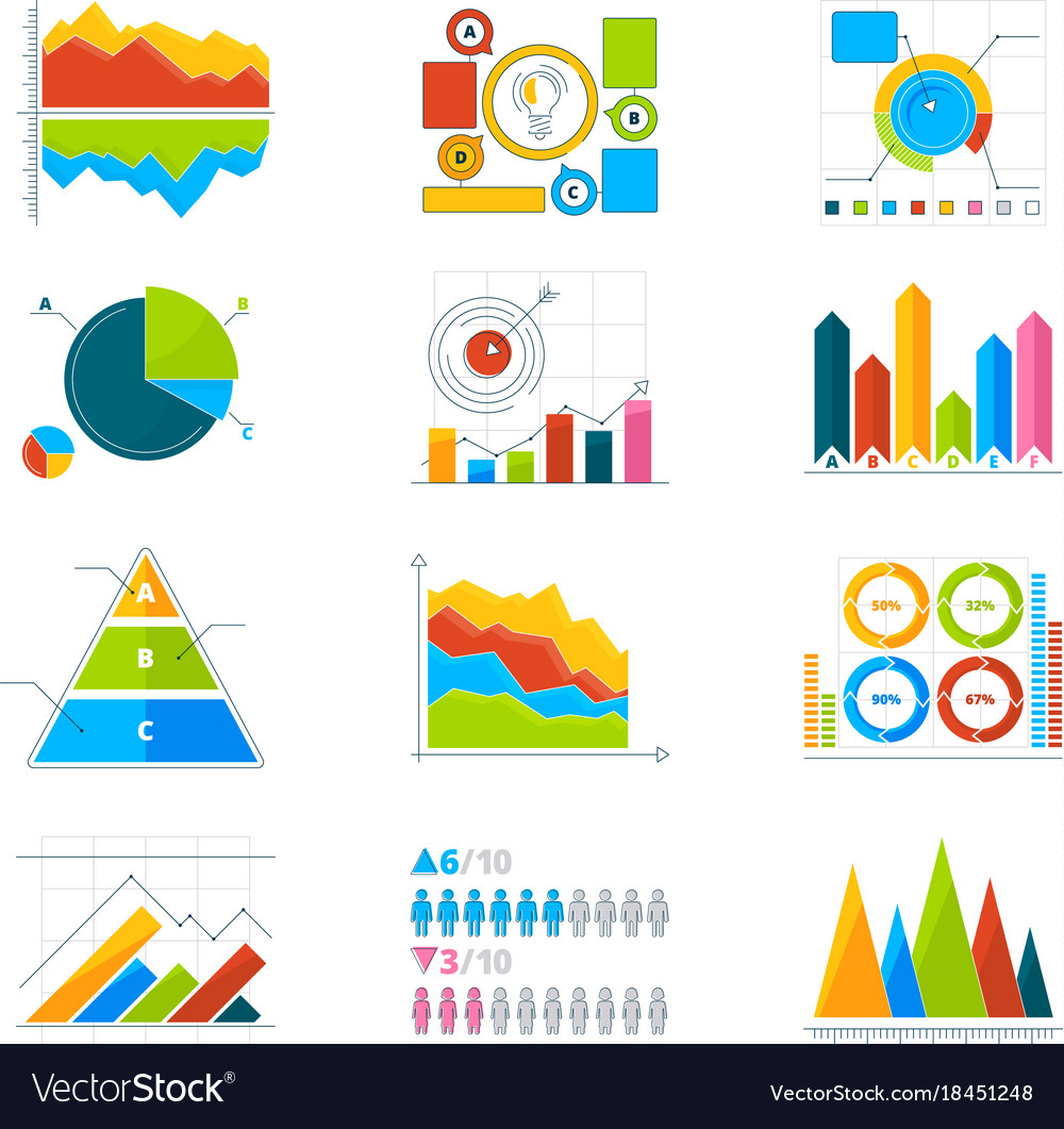 Modern elements for infographics